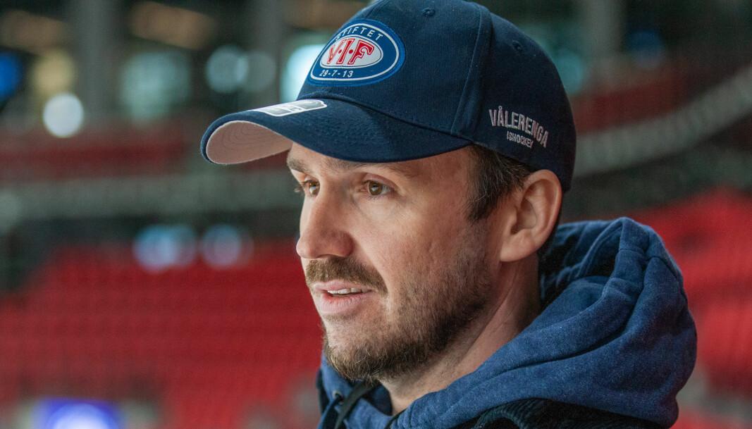 Frikk Juell i Vålerenga hockey håper i likhet med spillergruppa på mer Fjordkraftliga og et NM-sluttspill.