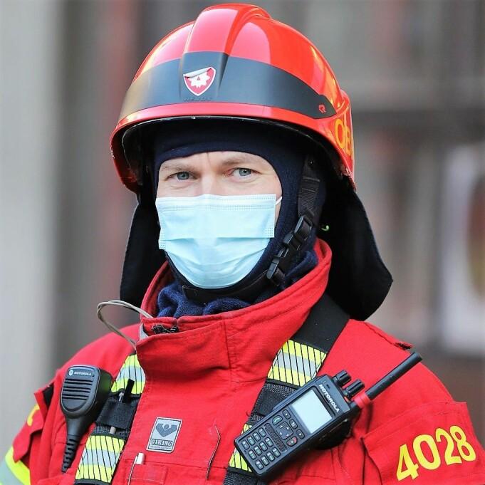 — Mange har mistet hjemmene sine til flammene, sier brigadeleder Jørgen Lie.