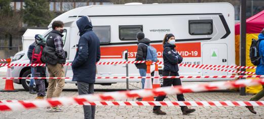 307 nye smittetilfeller siste døgn. Ny rekord i Oslo