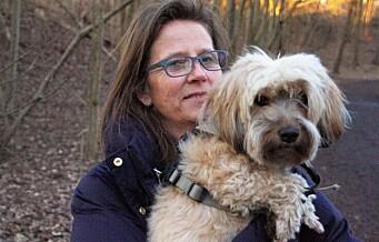Turgåer Jeanette på Bygdøy måtte ta hunden under armen. Likevel fortsatte reven å angripe