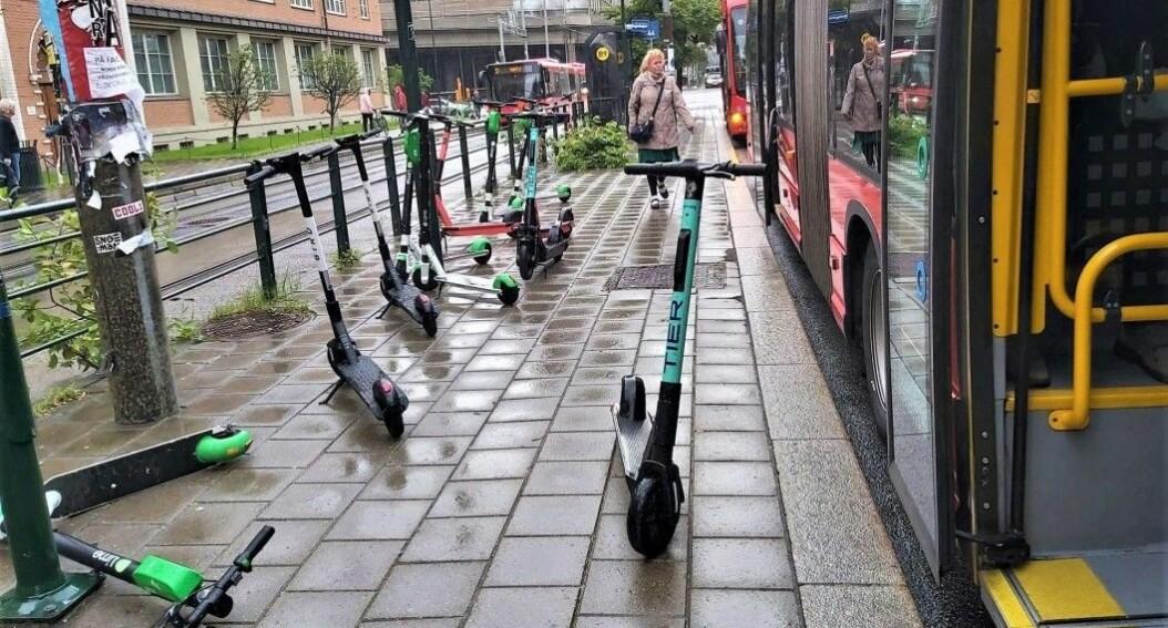 Mot ny sommer med elsparkesykkel-kaos i Oslo: Manglende lovverk stanser regulering på kommunal grunn