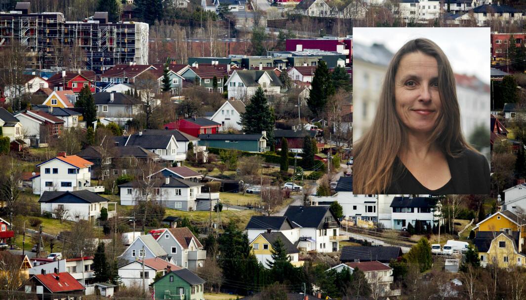 — Småhusplanen må bli et verktøy som gjør det mulig å lage områder med boligtyper Oslo ikke har fra før. Det må bli tettere i villaområdene, men det må bli en positiv tetthet, sier Tanja Lie, leder i rådet for byarkitektur.