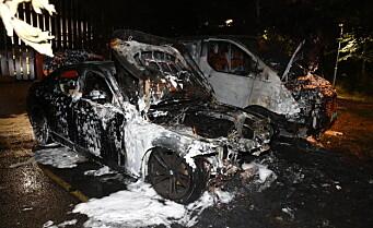 To biler brant på Torshov