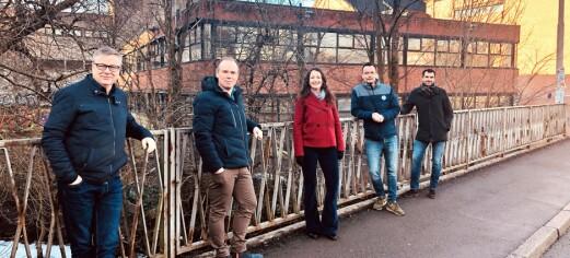 I Brenneriveien, rett ved Blå og Dansens hus, kommer 200 nye studentboliger