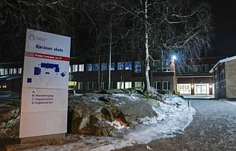 Bjøråsen ungdomsskole på Romsås stenges etter smitteutbrudd