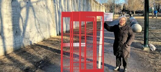 Statsbygg vil bygge gjerde rundt fengselsmuren. Lokalbefolkningen raser