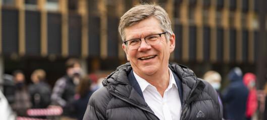 Svein Stølen gjenvalgt som rektor ved Universitetet i Oslo