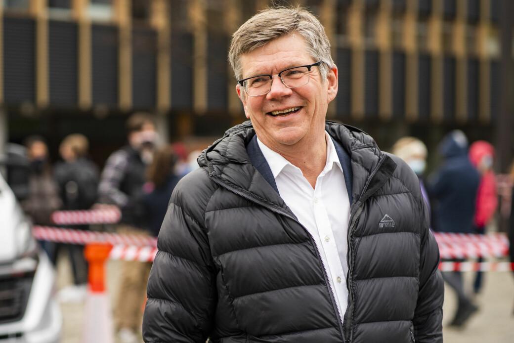 — Universitetet i Oslo er en institusjon jeg er veldig glad i og stolt over å få lede, sier gjenvalgt rektor Svein Stølen.
