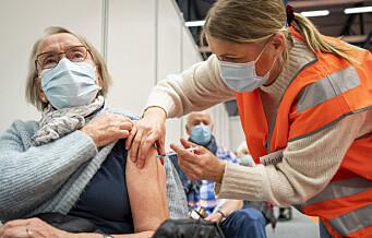 Slik fordeler vaksineringen seg i Oslo, bydel for bydel. Se oversikten