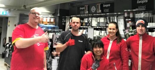 Europris-butikken på Bryn i Oslo er kåret til «Årets butikk» blant landets 266 Europris-butikker