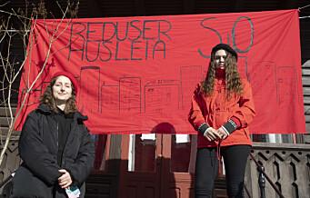 Studentaksjon krever redusering av husleia for studentboliger