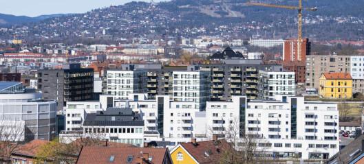 Utbyggere: Oslo har byggeklare tomter til bare 7.022 nye boliger