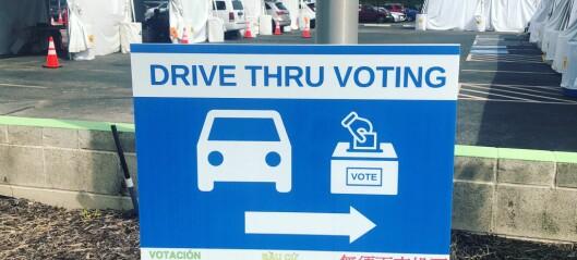 Bilister kan få stemme fra egen bil på Valle Hovin og Sjølyst ved stortingsvalget