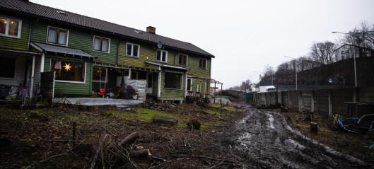 – Naturen og småhusområdene i byen bygges ned bit for bit. Det er en vandalisering av nærmiljøene