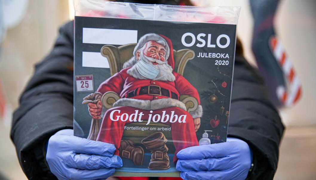Magasinselgerne i Erlik Oslo fikk heldigvis anledning til å selge fjorårets julebok, som er så viktig for inntekten deres. Men nå er salgslokalet til organisasjonen nok engang koronastengt, og det begynner å tære på både tålmodigheten og kreftene.