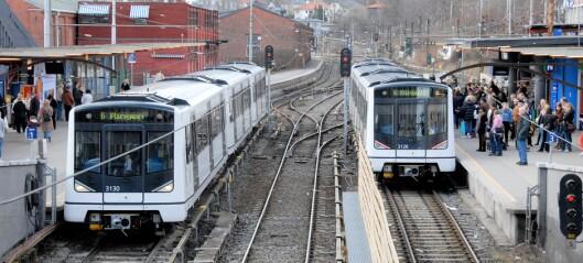 Regjeringen vil gi 500 millioner til arbeidet med nye Majorstuen stasjon