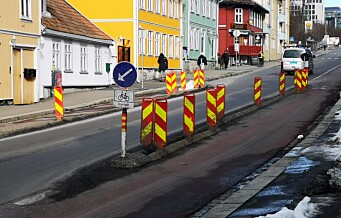 Fysisk sperre mellom kjørebane og sykkelfelt testes nå ut på Vålerenga og i Gamlebyen