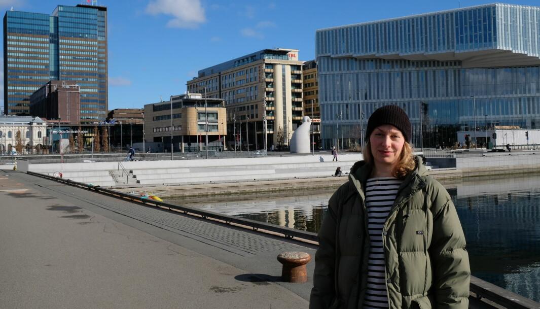 MDG i Gamle Oslo har bedt om en ny gjennomgang av saken og vedtaket som så langt har satt en stopper for ferjedrift i Bjørvika. — Vi mener det går an å legge til rette for badeliv og båtruter, sier Tuva Løkse (MDG).