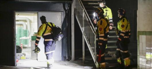 Gasslekkasje og eksplosjon i bakeri på Grønland