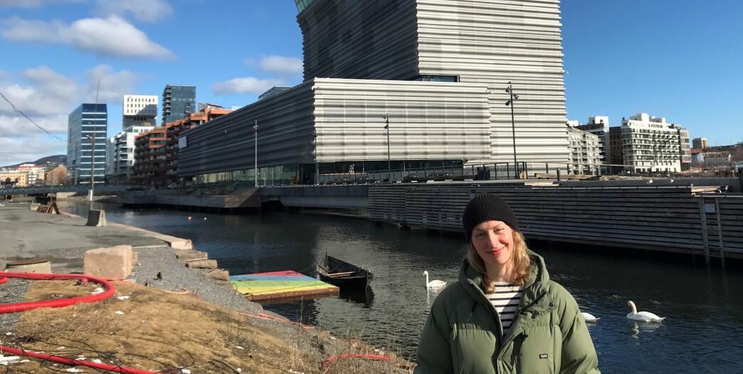 Tuva Løkse i Miljøpartiet de grønne i bydel Gamle Oslo har stilt seg i front for å få til en løsning som kan sikre en ny båtrute mellom Oslo S, Munchmuseet og Bygdøy foran kommende sommersesong.