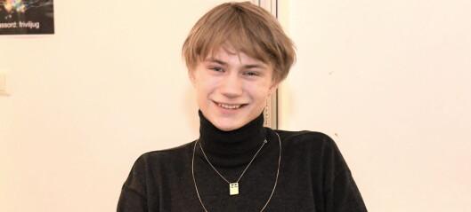 Grünerløkka-gutten Edvard (19) er ny leder for 180.000 skoleelever: - Kast fraværsgrensa i søpla