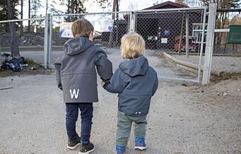 Minst fire Oslo-barnehager stengt grunnet korona. Flere kan bli stengt de nærmeste dagene