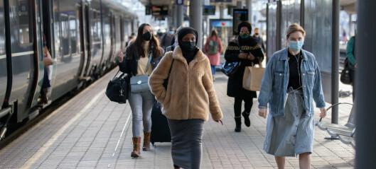 Fortsatt høye smittetall. 327 nye smittede i Oslo