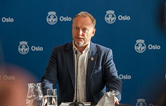 Pressekonferanse om koronasituasjon i Oslo i morgen kl 16