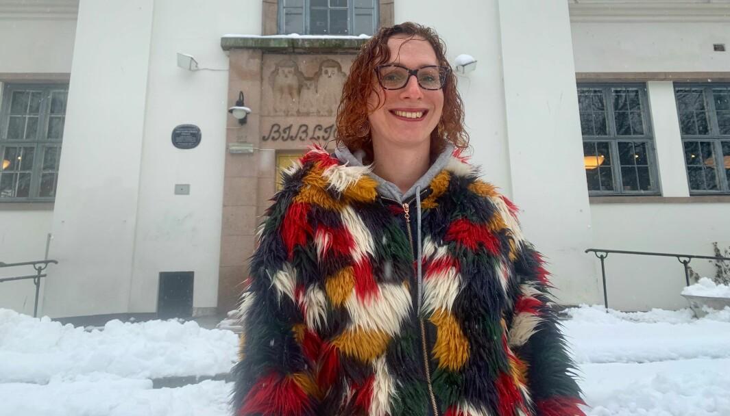 — Oslo er en fantastisk liten hovedstad med alt det man skulle ønske seg av tilbud. Jeg elsker særlig musikk- og kulturtilbudene vi har, sier Mathilde Decaen Fossheim (36) som er både musiker, sykepleiestudent og hjelpepleier.