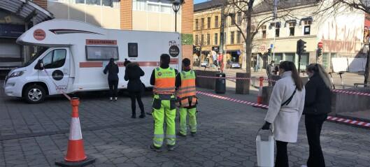 Høy testaktivitet i Oslo før påskeferien. Forventer effekt i neste uke