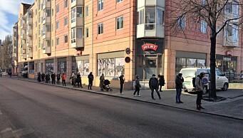 Flere tester seg i Oslo: – Folk tar ansvar