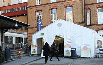 Oslo universitetssykehus avvikler korona-beredskapen