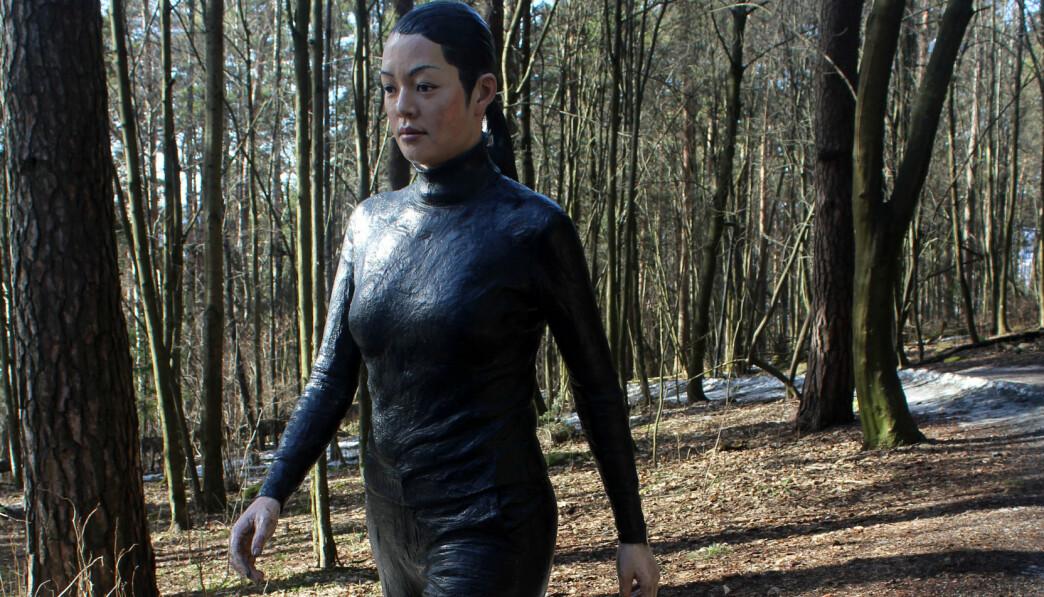 Walking Woman i Ekebergparken.