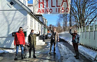 Samler inn penger for å slåss mot bystyrevedtak som tillater riving av husene på Hylla