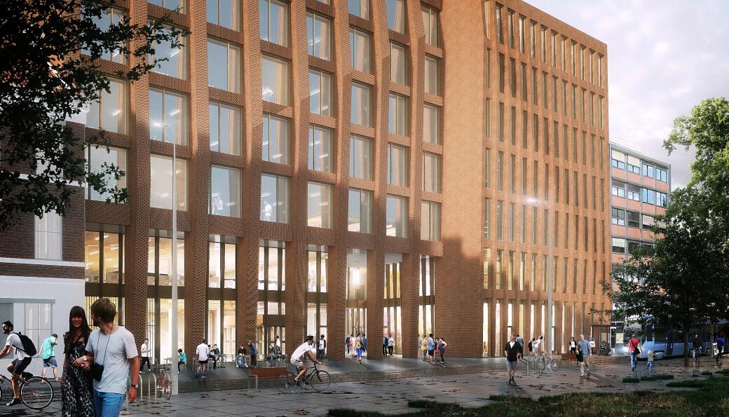 Domus Juridica, UiOs nye juridiske fakultet i Kristian Augusts gate 17.