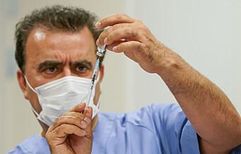 Rundt 100.000 vaksinedoser satt i Oslo. Drøyt 30.000 oslofolk har fått koronavaksine nummer to