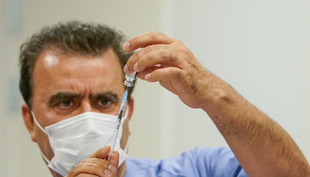 Bare én av tre somaliere over 75 år er blitt vaksinert.