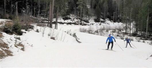 Gladmelding til deg som er koronafast i Oslo i påsken: Det er fortsatt flotte skiløyper i Marka