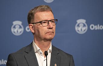 Helsebyråd Robert Steen (Ap) frykter smittetopp i Oslo etter påsken