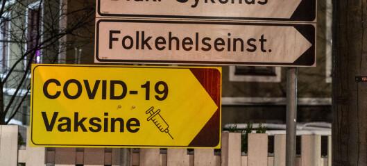 Alle i Oslo kan nå registrere seg for vaksinering