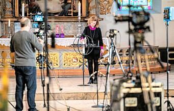 Åpne dører og digitale gudstjenester gjør at det blir påskefeiring i oslokirkene i år også