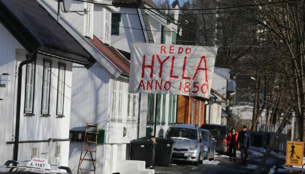 Det fins en god måte å redde trehusbebyggelsen på Hylla i Kværnerdalen.