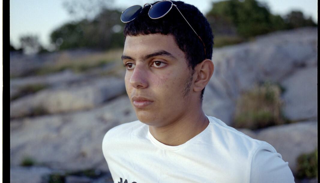 Abdoullah Boudaya (17) har fryktet å miste noen i familien på grunn av korona.