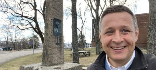 – I dag er det 250 år siden Hans Nielsen Hauge ble født. Oslo kommune bør feire han