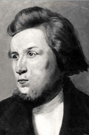 Portrett malte av Hauge i København rundt 1800.