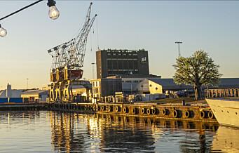 — Kaffetårnet på Filipstad er flyttet fra en by som vil bli kvitt enhver bedrift med industriarbeidere
