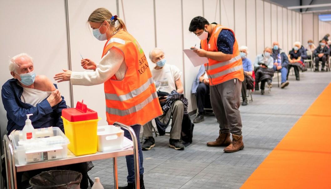 Over 65.000 osloborgere har hittil benyttet den prvate netløsningen helseboka.no til å registrere seg for å få tatt koronavaksinen.