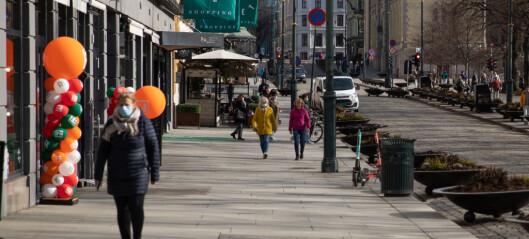 Antallet koronatester i Oslo halvert i påsken. Helsebyråden frykter skjult smitte
