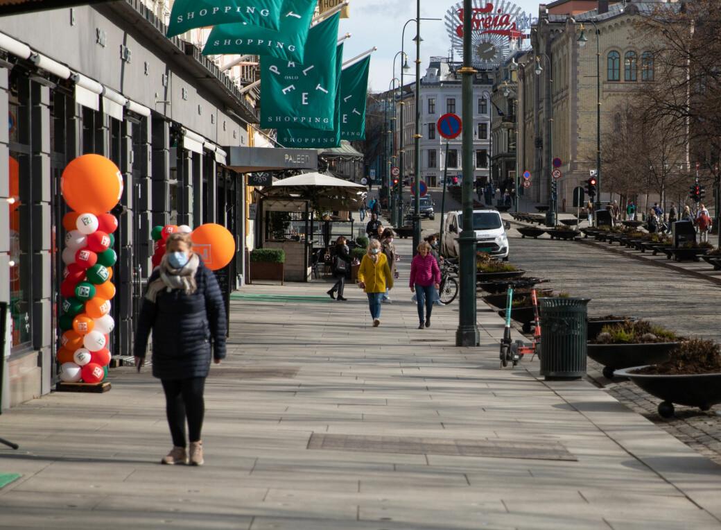 Om lag 24.000 personer testet seg i Oslo gjennom sist uke. De tre foregående ukene var tallene om lag 48.000. Foto: André Kjernsli