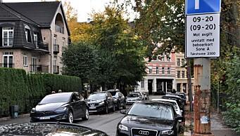 Beboerparkering ble bøte-bonanza for kommunen: Tok inn 147,9 millioner i p-bøter og gebyrer